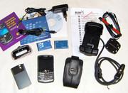 CDMA телефон BlackBerry Curve 8330 Dark Gray + тонна аксессуаров